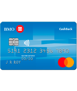 BMO CashBack Mastercard For Students