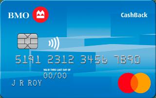 BMO CashBack Mastercard studentams
