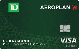 TD Aeroplan Visa Business Card Review