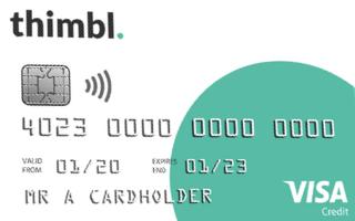 thimbl. credit card review 2021