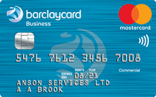 Barclaycard Business Select Cashback Credit Card Mastercard