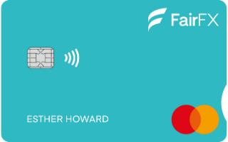 FairFX Linked Card