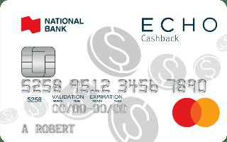 National Bank ECHO Cashback Mastercard