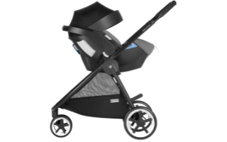 A second view of the Cybex Aton 5 Car Seat