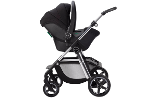 A second view of the Silver Cross Dream i-Size Donnington Newborn Baby Car Seat