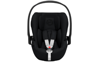 A second view of the Cybex Cloud Z i-Size Car Seat