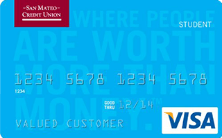 Student Visa® Credit Card from San Mateo Credit Union review